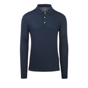 Rewoolution Herren Langarm Polo-Shirt Indy - Rewoolution