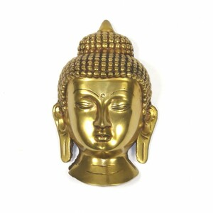 Buddha Maske poliert - Just Be