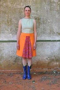 A-Rock Orange mit Falteneinsatz LIMITIERTE AUFLAGE! - käufer (d) sein