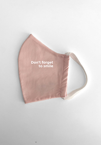 Maske Don't Forget To Smile Pink - PHYNE