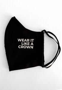 Maske Wear It Like A Crown Black  - PHYNE