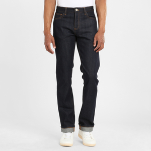 Jeans Regular Straight - Oak raw blue  - KnowledgeCotton Apparel