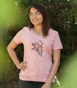 Mara Meise - Fair Wear Frauen T-Shirt - Rosa - päfjes