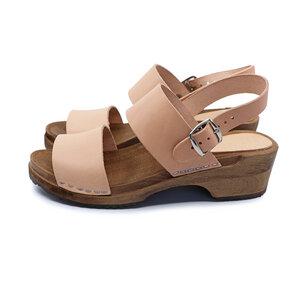 FINT - schwedische Holz Clogs Sandale von me&myclogs - low heel - me&myClogs