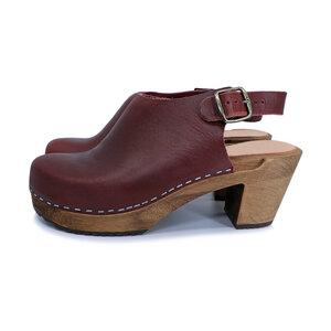 IDÉ - schwedische Holz Clogs von me&myClogs - high mid heel - me&myClogs