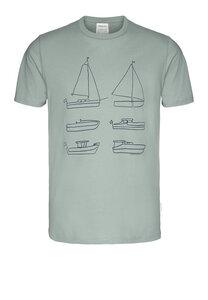 JAAMES SIX BOATS - Herren T-Shirt aus Bio-Baumwolle - ARMEDANGELS