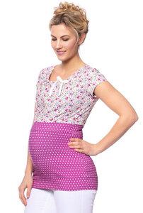 MARIA Umstands- und Stillshirt (KA) aus Bio Baumwolle - Milchshake