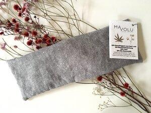 Kirschkernkissen HOYA aus recyceltem Hanf und Bio-Baumwolle - MAVOLU