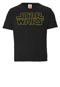 LOGOSHIRT - Star Wars - Schriftzug - Logo - Kinder - Bio - Organic T-Shirt  - LOGOSH!RT