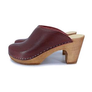 LUSTFYLLT - schwedische Holz Clogs Sandale von me&myclogs - sky high heel  - me&myClogs