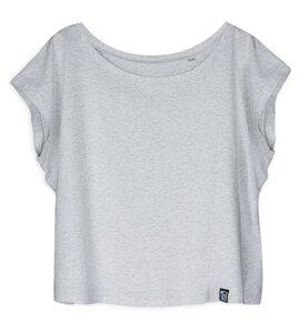 Cropped Shirt Basic aus Biobaumwolle - Gary Mash