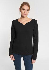"""Damen Sweatshirt aus Bio Baumwolle """"Parma Lieblingsplatz"""" schwarz - SHIRTS FOR LIFE"""