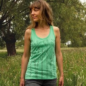 Damen Tank-Top Birken chameleon green - Cmig