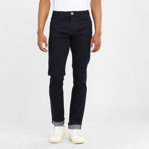 Jeans Slim tapered - Ash blue rinse  - KnowledgeCotton Apparel