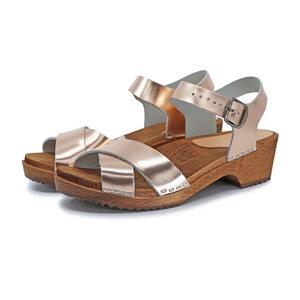 MÄRTA - schwedische Holz Clogs Sandale von me&myclogs - low heel - me&myClogs
