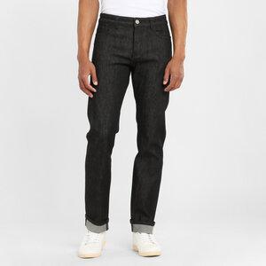 Jeans Regular Straight - Oak raw black - KnowledgeCotton Apparel