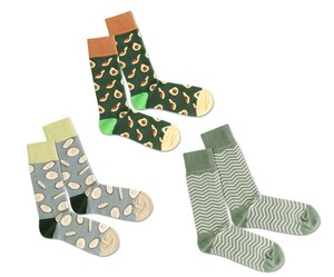 3er Socken Box - Healthy Greens - Dilly Socks