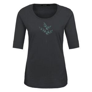 GREENBOMB Damen T-Shirt Eye Leaves Bio-Baumwolle - GreenBomb