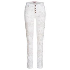 Slimfit Jeans Satu mit durchgeknöpfter Schlitzleiste | BLUME - Feuervogl