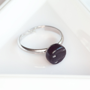 Kleiner Glas Ring Rund | PUREFORM - ALEXASCHA