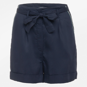 GREENBOMB Damen Sommer-Shorts Quick Navy Bambus-Viskose - GreenBomb