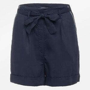 GREENBOMB Damen Sommer-Shorts Quick Navy Bambus-Viskose - GreenBomb