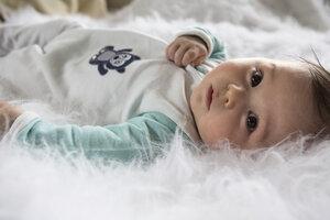 Warmer Schlafanzug Weiß/Eisblau 'Bär' o. Rosa/Orange 'Meerschweinchen' - Chill n Feel