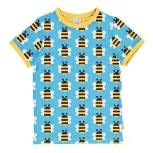 Kurzarm T-Shirt Bienen humble bumblebee - maxomorra