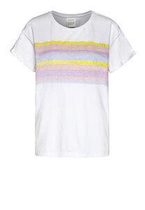 NAALIN BLURRED STRIPES - Damen T-Shirt aus Bio-Baumwolle - ARMEDANGELS