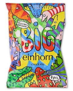 Vegane Einhorn Kondome Tyrannosaurus - BIG - Einhorn