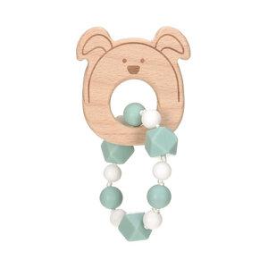 Lässig Baby Greifling, Beißhilfe  -Little Chums Hund,Katze oder Maus -tolles Geschenk  - Lässig