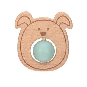 Lässig Baby Greifling, Beißhilfe  mit Ball -Little Chums Hund,Katze oder Maus -tolles Geschenk  - Lässig