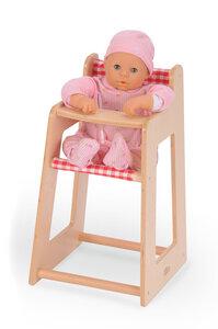 Puppenhochstuhl mit Stoffhänger -  Einfach toll für die Kleinen - Bätz Holzspielwaren