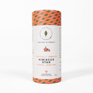 "Fairtrade Tee aus Tansania ""Hibiscus Star"" von Kazi Yetu - Kazi Yetu"