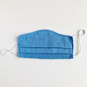 5-er Pack - Behelfsschutzmaske/Mund-und Nasenmaske für Kinder aus Bio-Musselin Baumwolle  - Peter Jo Kids