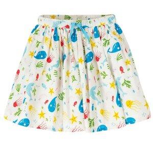 Frugi full skirt splashing about Meerestiere - Frugi