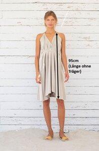 Kleid Midi Einheitsgröße Print - Multiposition Dress Short Print - Bio-Baumwolle&Leinen - Suite 13