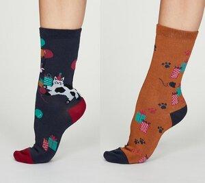 2er Set Socken - Lora Socks in a Bag - Thought