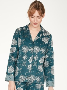 Pyjama Hemd - Ellis Pyjama Shirt - Thought