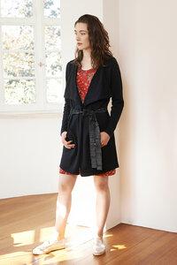 lange Strickjacke Edith aus Baumwolle - ME&MAY