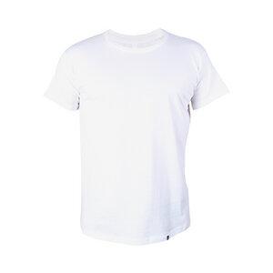 Herren T-Shirt aus Bio-Baumwolle Basic weiss. Handmade in Tanzania - Kipepeo-Clothing
