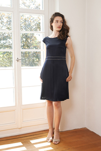 Kleid Rose aus Viskosesatin - ME&MAY