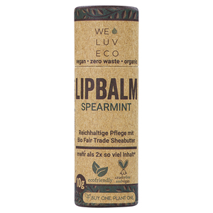 WE LUV ECO Lipbalm Spearmint - WE LUV ECO