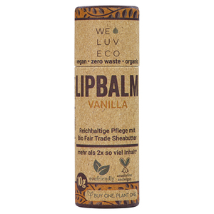 WE LUV ECO Lipbalm Vanilla - WE LUV ECO