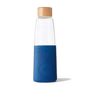 Trinkflasche aus mundgeblasenem Glas – SoL Bottle (850ml) - SoL Cups