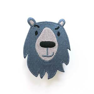 Bären-Patch zum Aufbügeln - käselotti