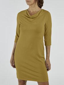 "Kleid ""Alvia"" femininer Look aus French Terry - La Gitana"