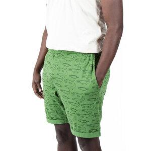 "Kipepeo Unisex Organic Shorts ""Crocodiles"". Handmade in Kenya. - Kipepeo-Clothing"
