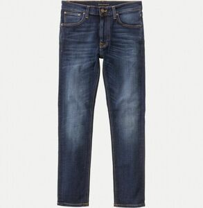 Lean Dean Dark Deep Worn - Nudie Jeans