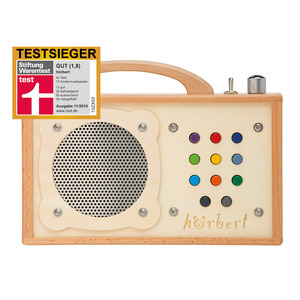 hörbert: MP3-Player aus Holz für Kinder - hörbert